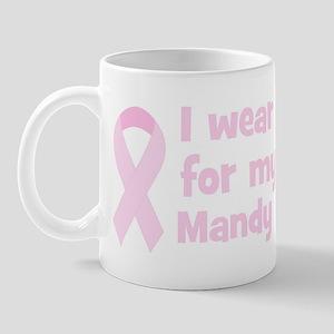 Aunt Mandy (wear pink) Mug