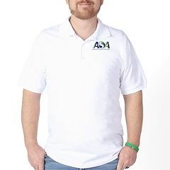 Golf Shirt with ASA Centennial Logo