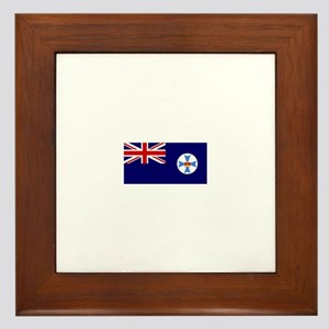 Queensland flag Framed Tile