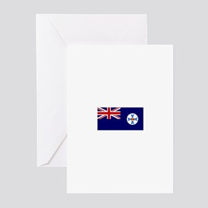 Queensland flag Greeting Cards (Pk of 10)