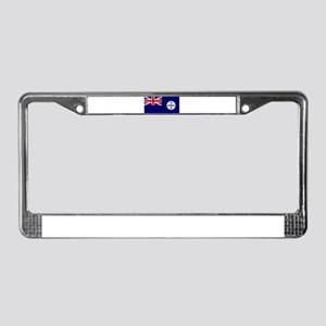 Queensland flag License Plate Frame