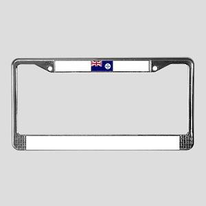 Queensland flag License Plate Frame
