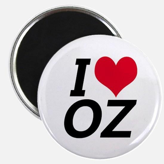 I Love Oz Magnet