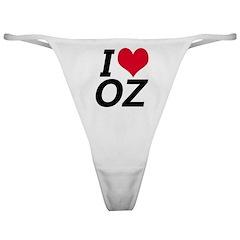I Love Oz Classic Thong