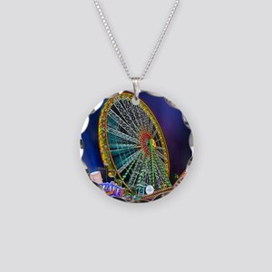 The Ferris Wheel Necklace Circle Charm