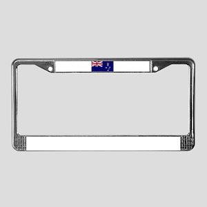 victoria flag License Plate Frame