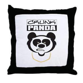 Crunk Panda™ Throw Pillow