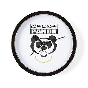 Crunk Panda™ Wall Clock