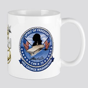 CVN-73 USS George Washington Mug