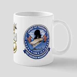 CVN-73 USS George Washington Mug