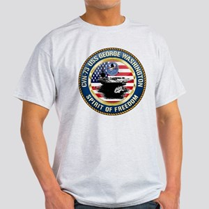 CVN-73 USS George Washington Light T-Shirt