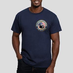 CVN-73 USS George Wash Men's Fitted T-Shirt (dark)
