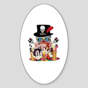 Dealers-Curse-V1 Sticker (Oval)