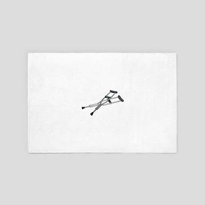 MetalCrutches082010 4' x 6' Rug