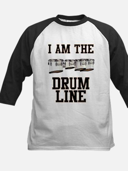 Quad Drummer Kids Baseball Jersey