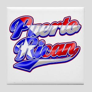 Puerto Rican Tile Coaster
