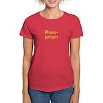 Phonograph Women's Dark T-Shirt