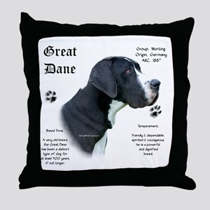 Mantle(n) History Throw Pillow