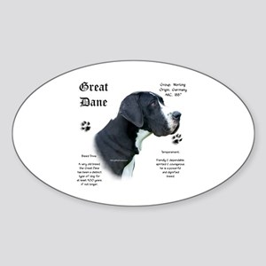Mantle(n) History Oval Sticker