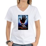 The Arm of Darkness Women's V-Neck T-Shirt