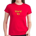 Word Up Women's Dark T-Shirt