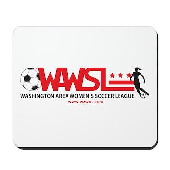 """WAWSL logo mousepad (9""""x7.5"""")"""