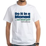 Monad purity logo on White T-Shirt