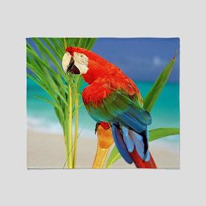 Parrot Throw Blanket