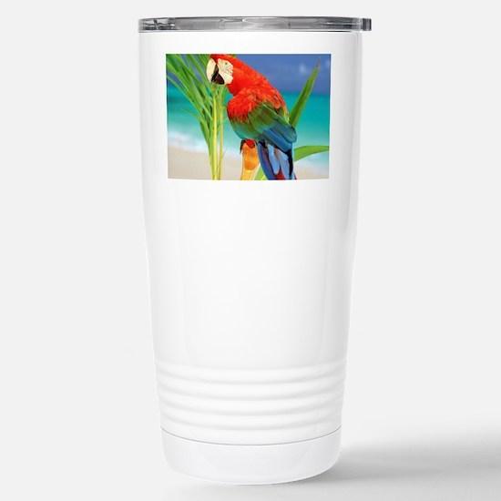 Parrot Stainless Steel Travel Mug
