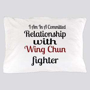 Relationship With Wing Chun Fighter Pillow Case