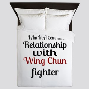 Relationship With Wing Chun Fighter Queen Duvet