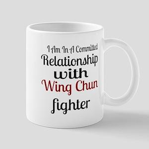 Relationship With Wing Chun Figh 11 oz Ceramic Mug