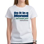 Monad Purity logo on Women's T-Shirt