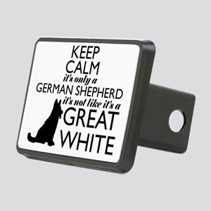 German Shephered NOT a Gre Rectangular Hitch Cover