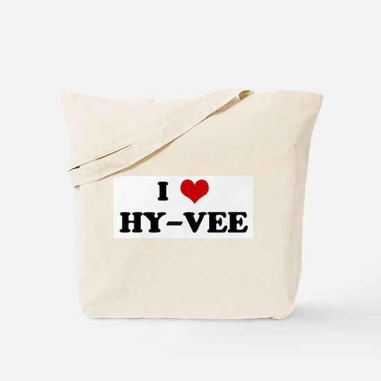 I Love HY-VEE Tote Bag