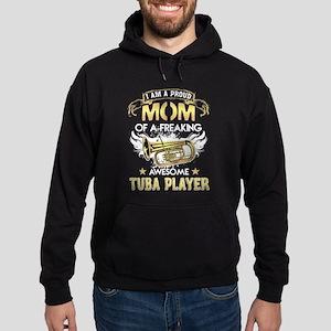 Proud Mom Of Tuba Player Tshirt Sweatshirt