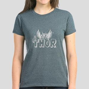 Marvel Comics Thor 2 Women's Dark T-Shirt