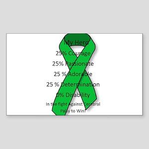 My Cerebral Palsy Hero Sticker