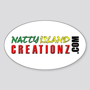 NIC URL Oval Sticker
