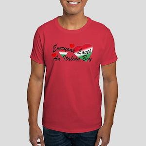 Loves an Italian Boy Dark T-Shirt