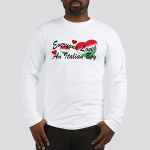 Loves an Italian Boy Long Sleeve T-Shirt