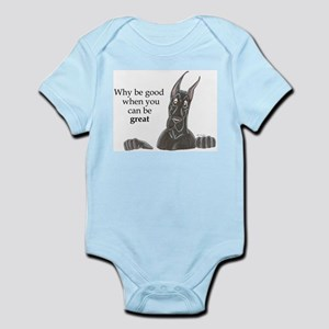 CBlk Why be Infant Bodysuit
