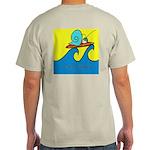 Fast Snail Logo/Surf Snail Light T-Shirt