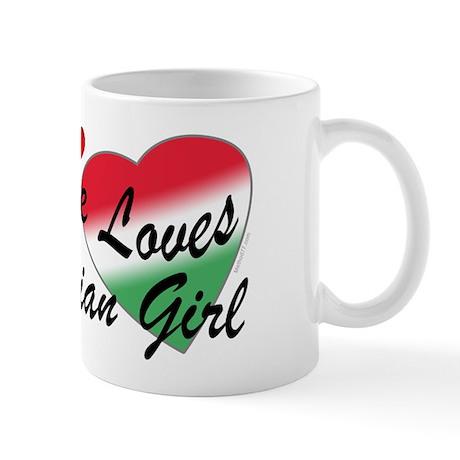 Loves an Italian Girl Mug