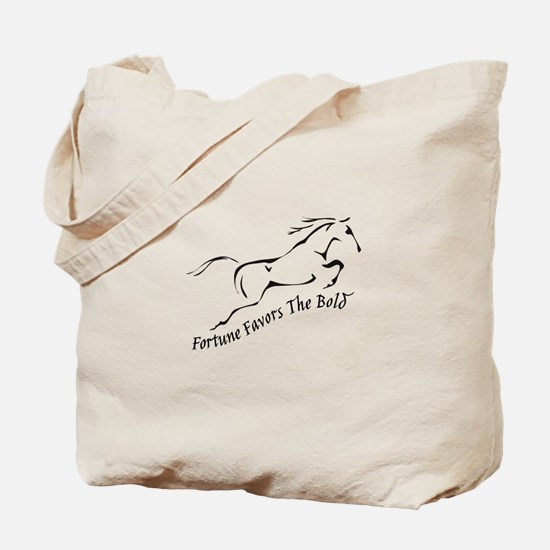 Fortune Favours the Bold Tote Bag