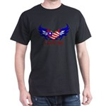 In God we trust heart flag Dark T-Shirt