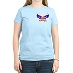 In God we trust heart flag Women's Light T-Shirt