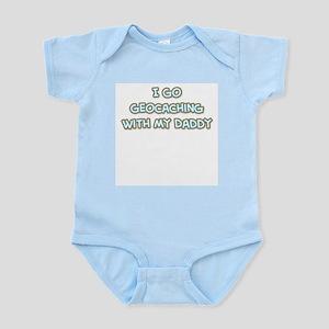 Geocaching Daddy Infant Bodysuit