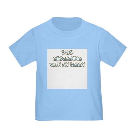 Geocaching Daddy Toddler T-Shirt