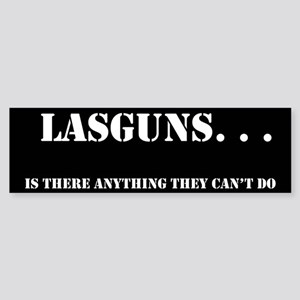Lasguns Bumper Sticker